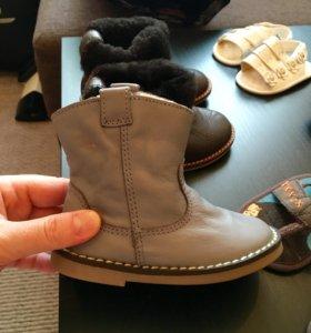 Ботиночки тёплые Zara