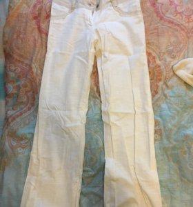 Белые штаны удобные очень хорошего качества 44 раз