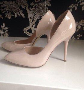 Туфли кожаные (новые)