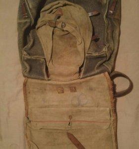 Немецкий ранец времен второй мировой войны.