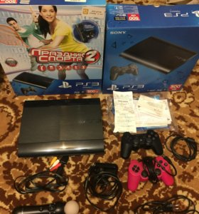 Игры и Sony Play station 3 (PS3) 500 gb.