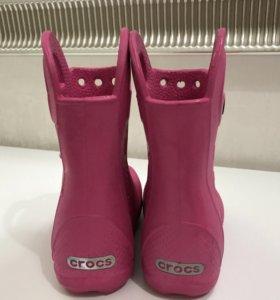 Crocs сапоги с8
