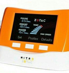 """""""Zotac nitro"""" контроллер для разгона видеокарты."""