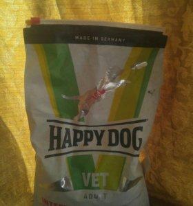 Специализированный корм для собак HEPPY DOG
