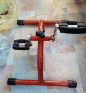 Велотренажер для больных после инсульта