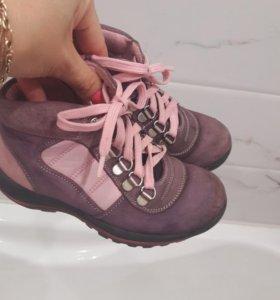 Осенние ботиночки 27 размер