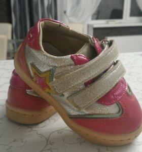 Кроссовки для девочки 19 размер