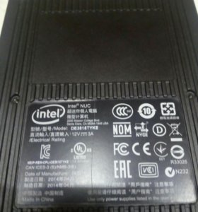 Платформа Intel NUC De3815tyke
