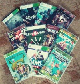 Игры на Xbox 360 .