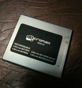 Q415 micromax аккумулятор
