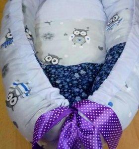 Кокон гнездышко для младенца на заказ.