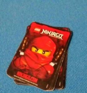 Карточки Ninjago (Ниндзяго)