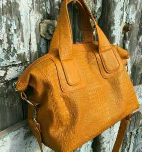 Новая сумка натуральная кожа