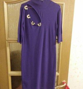 Платье трикотаж . Новое