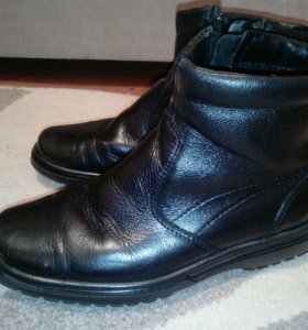 Ботинки школьные нат.кожа фирмы Лель