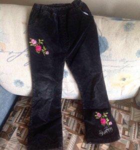 Утеплённые штаны для девочки