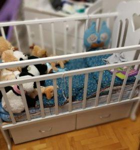 Кровать детская Makkaby Annette
