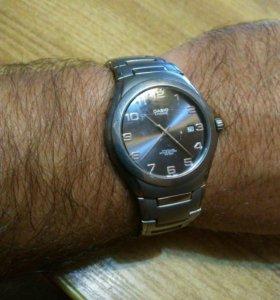 Часы casio титановые водонепронецаемые