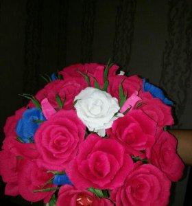 Цветы из бумаги на заказ