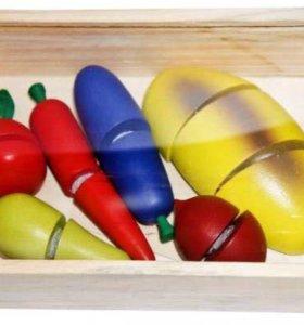 Набор для резки на липучках (деревянный)