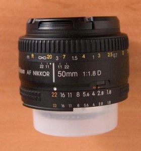 NIKON 50mm D 1.8