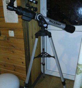 Телескоп TeleScience со штативом и окулярами
