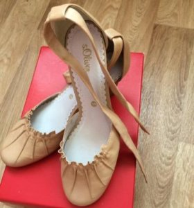 Новые туфли женские кожаные s.Oliver