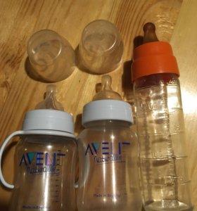 Бутылочки Avent и Kavalier