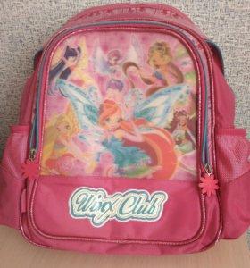 Рюкзак школьный, полуортопед.