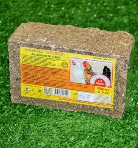 Корм-брикет для птицы
