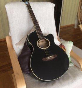 Гитара Colombo LF401CEQ BK