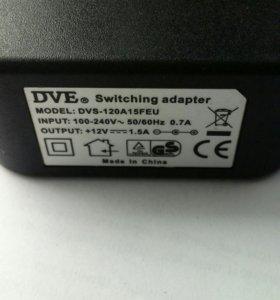 Сетевой адаптер 12V, 1,5А