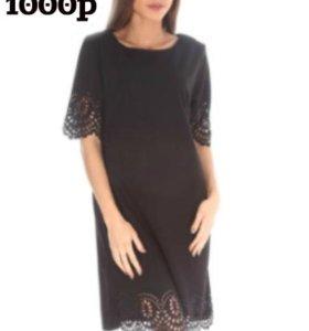 чёрное платье 50-52