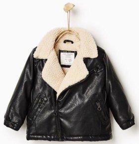 Новая! Куртка Zara р.86-98. На 18-24 мес