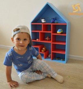 Кукольный домик, детская парковка