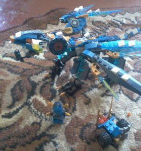 Лего ниндяго с драконом