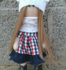 Интерьерная кукла-малышка