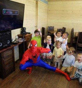 Аниматор - Человек-паук на детский праздник