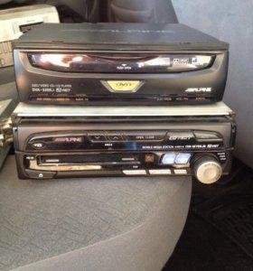 Alpine Iva - M700JS + привод DVD