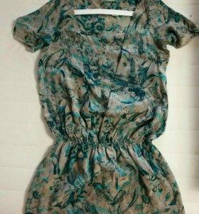 Платье 💯 шёлк