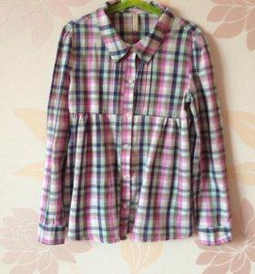 Рубашка 👚 для девочки 10-11 лет