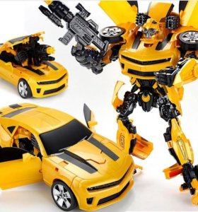 """42 см Робот Трансформер """"Шмель"""" модель Автомобиля"""