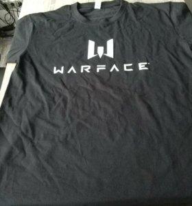 Футболка с логотипом Warface