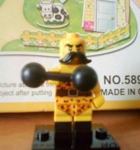 Лего мини фигурка