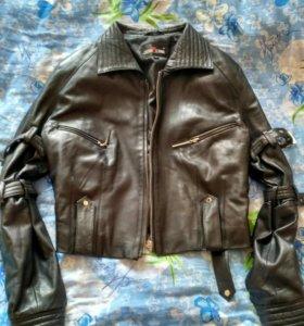 Нат кожа куртка