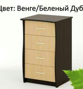 Комод КМ-06 Береза Мебель