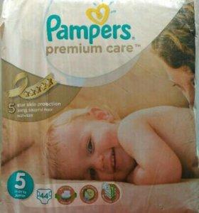 Подгузники pampers 5 premium care
