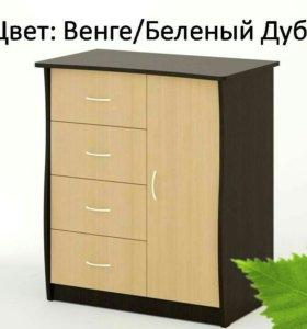 Комод КМ-09 Береза Мебель