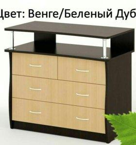 Комод КМ-10 Берёза Мебель