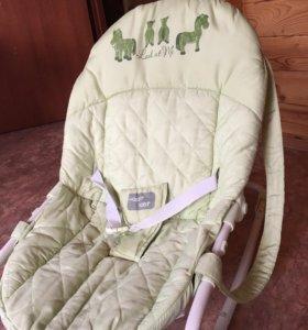 Продам детский шезлонг - качалку Happy Baby в